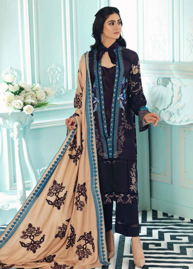 Charizma Embroidered Kotail Suits Unstitched 3 Piece CRZ21AK ANW-07 - Winter Collection
