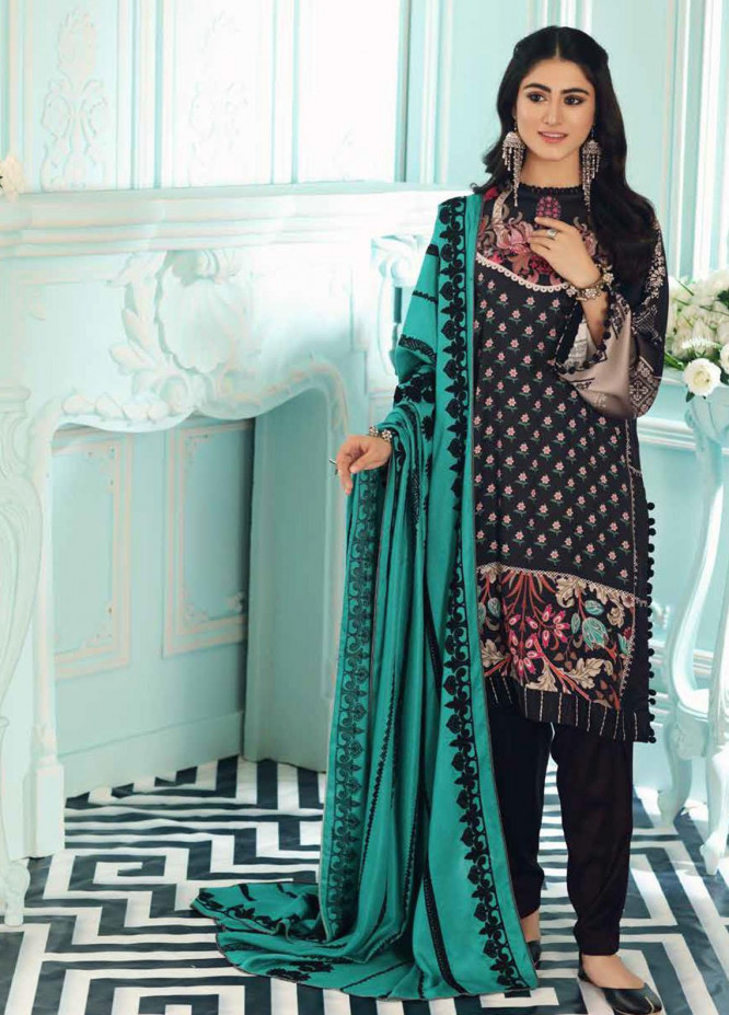 Charizma Embroidered Kotail Suits Unstitched 3 Piece CRZ21AK ANW-11 - Winter Collection