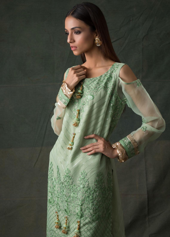 Areeba Saleem Embroidered Lawn  Unstitched Kurties AS21K 04 - Summer Collection