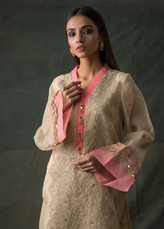 Areeba Saleem Embroidered Lawn  Unstitched Kurties AS21K 06 - Summer Collection