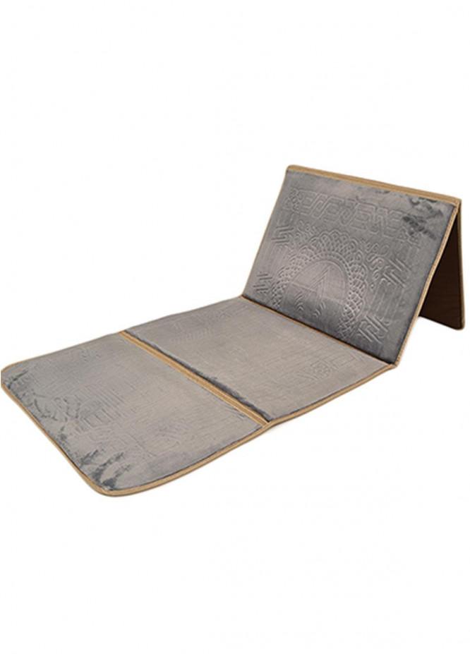 Plush Mink Mink Type  Prayer Mats Baithak BJ943 - Home & Decor