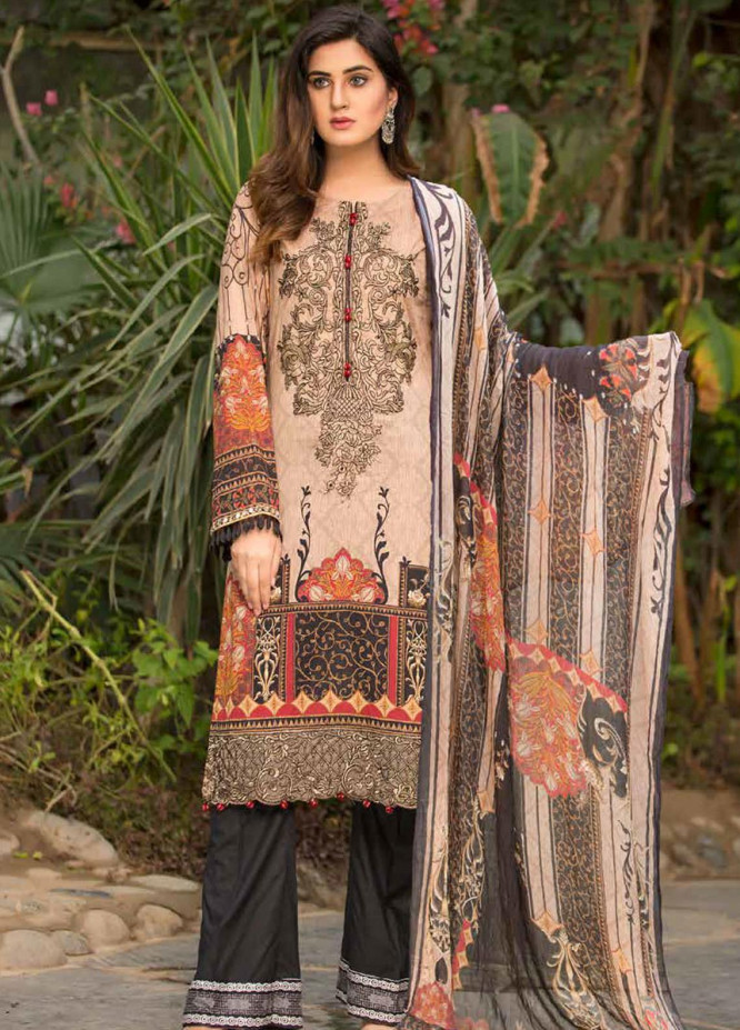 Barkha by Shamira Embroidered Lawn Unstitched 3 Piece Suit SHR20B 07 - Spring / Summer Collection