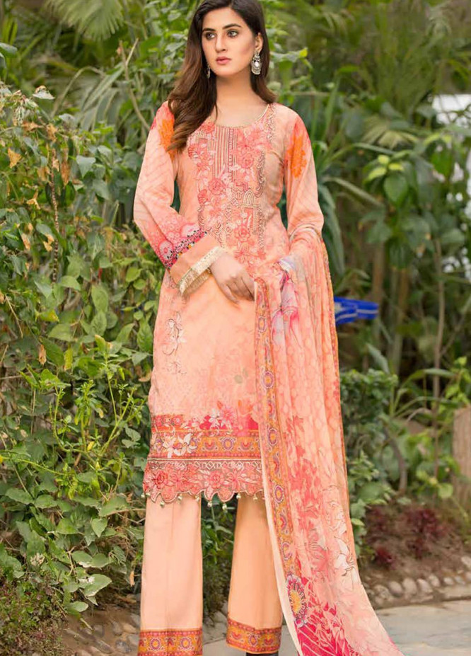 Barkha by Shamira Embroidered Lawn Unstitched 3 Piece Suit SHR20B 09 - Spring / Summer Collection
