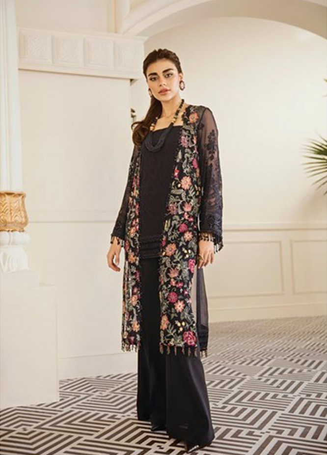 Baroque Embroidered Chiffon Unstitched 3 Piece Suit BQ19-C6 04 EXOTICA - Luxury Collection