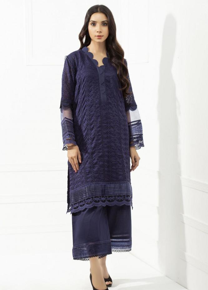 Yusra Ansari Chikankari Cotton Stitched 2 Piece Suit YA20BA Asterin (YBE-02)