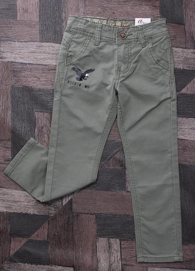 Sanaulla Exclusive Range Denim Jeans Pants for Boys -  M5 Dark Green