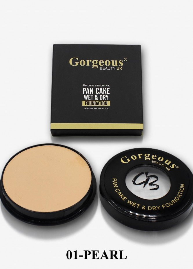 Professional Pan Cake Wet & Dry Foundation-01