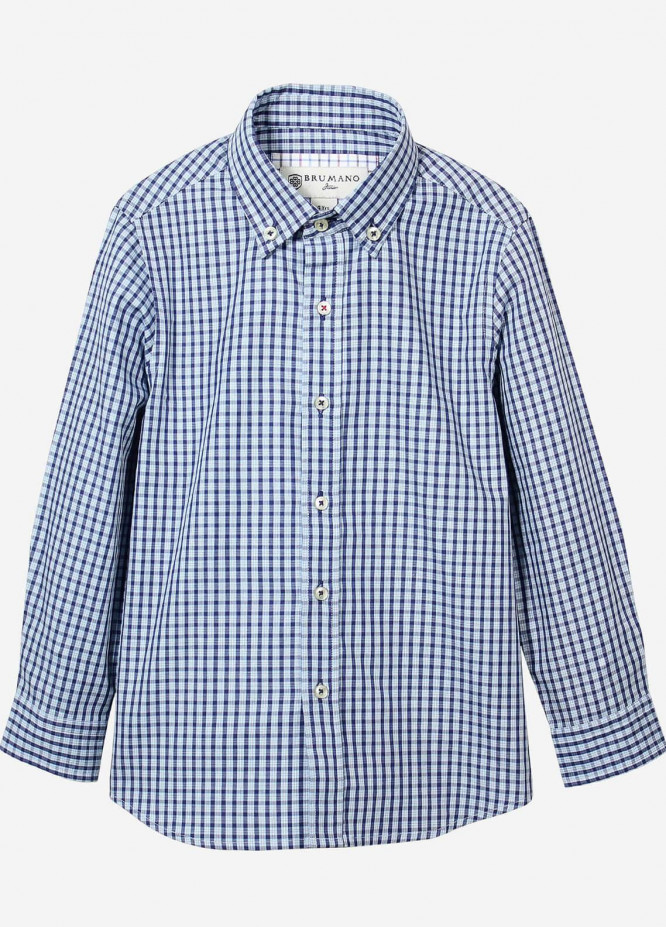 Brumano Cotton Casual Shirts for Boys -  BRM-804