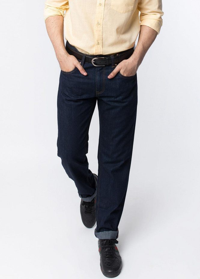 Brumano Denim Casual Jeans for Men - Blue 0-50-0018-006