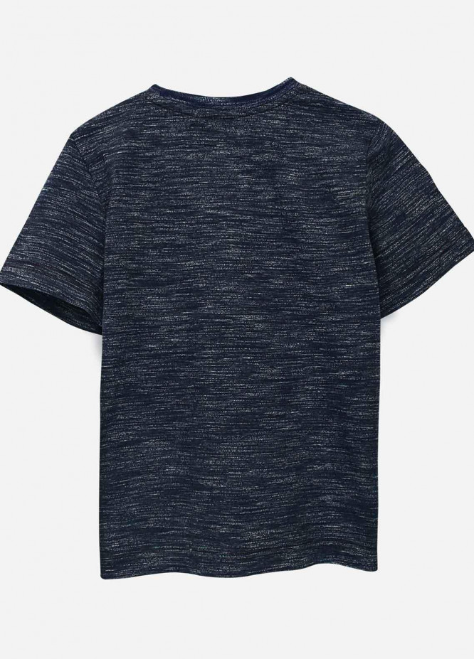 Brumano Cotton Casual T-Shirts for Boys -  BRM21JS Navy Blue Injected