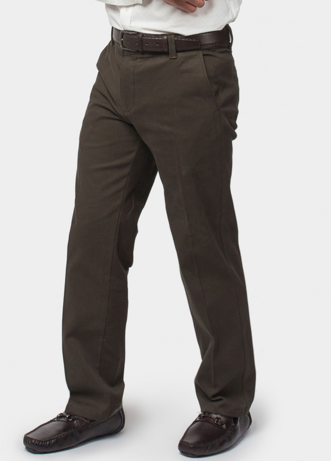 Brumano Cotton Formal Trousers for Men -  BRM-50-011