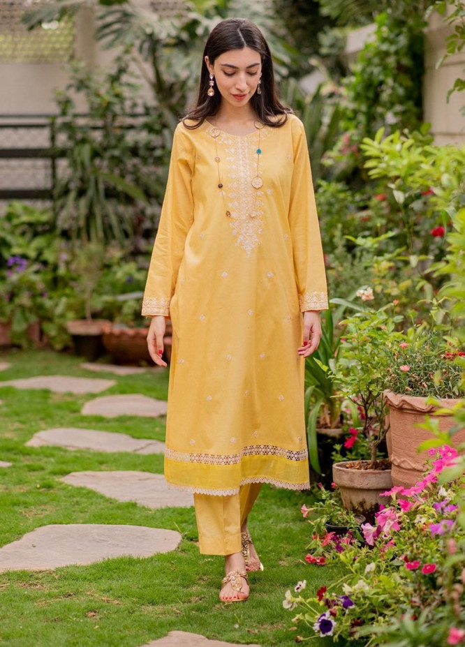 Celina Luxury Pret Embroidered Lawn 2 Piece Suit NADA