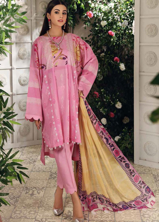 Charizma Printed Lawn Suits Unstitched 3 Piece CRZ21CP-5 CP-53 - Summer Collection