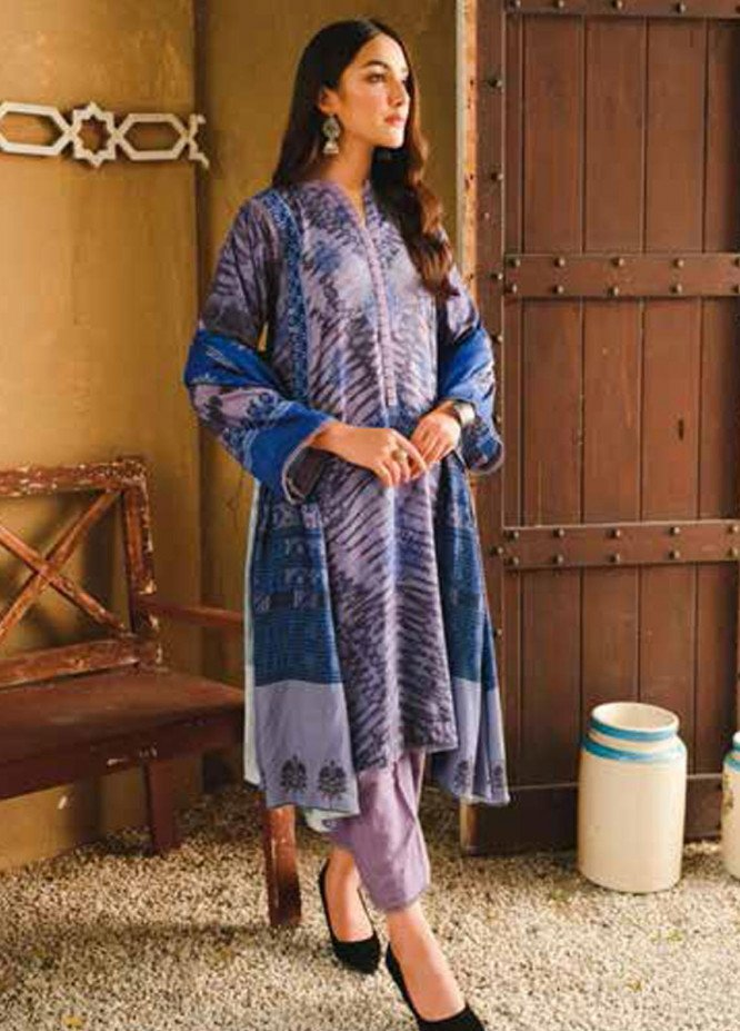 Charizma Printed Khaddar Suits Unstitched 3 Piece CRZ21CS CPW-30 - Winter Collection