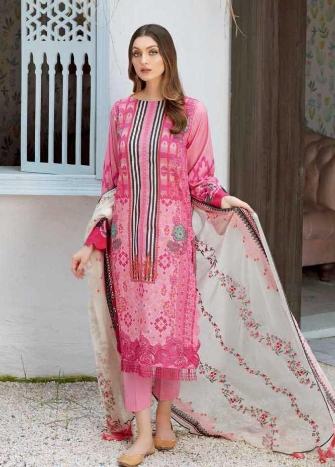 Naranji By Charizma Embroidered Lawn Suits Unstitched 3 Piece CRZ21-N2 20 - Summer Collection