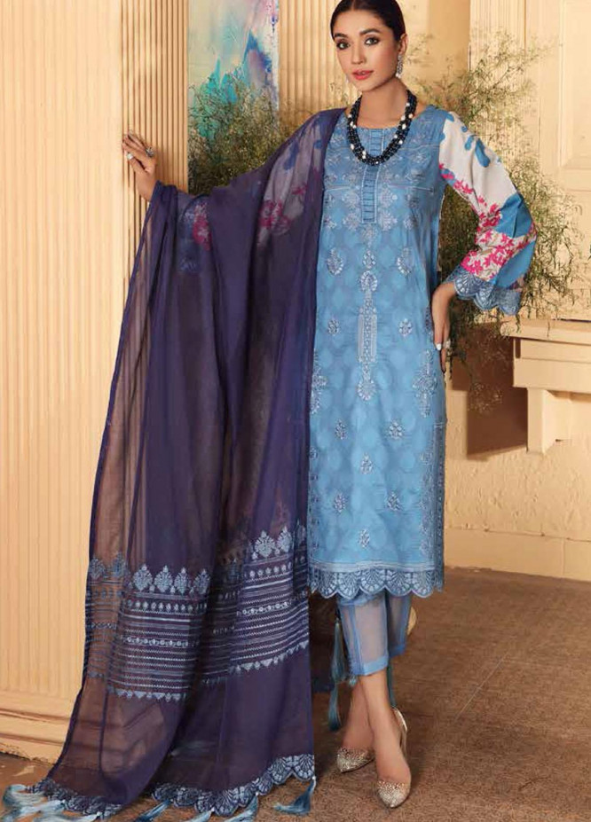 Naranji By Charizma Embroidered Lawn Suits Unstitched 3 Piece CRZ21-N2 21 - Summer Collection