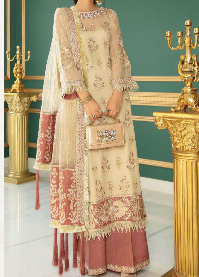 Chimere by Serene Embroidered Chiffon Unstitched 3 Piece Suit SP21C 1030 Skinsation - Premium Collection