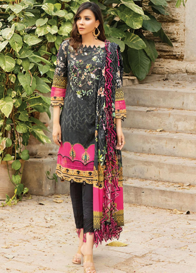 Coco by Al Zohaib Printed Lawn Suits Unstitched 3 Piece AZ21PC D-01 - Summer Collection
