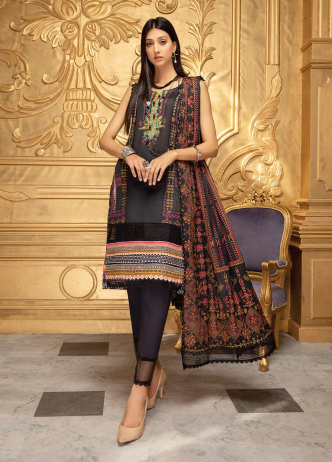 Coco by Al Zohaib Printed Lawn Suits Unstitched 3 Piece AZ21-PC2 06 - Summer Collection