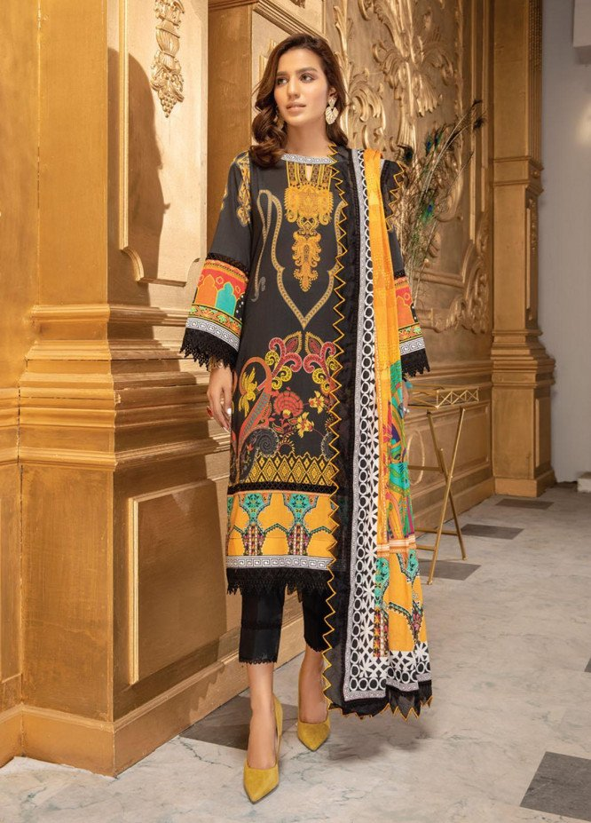 Coco by Al Zohaib Printed Lawn Suits Unstitched 3 Piece AZ21-PC2 18 - Summer Collection