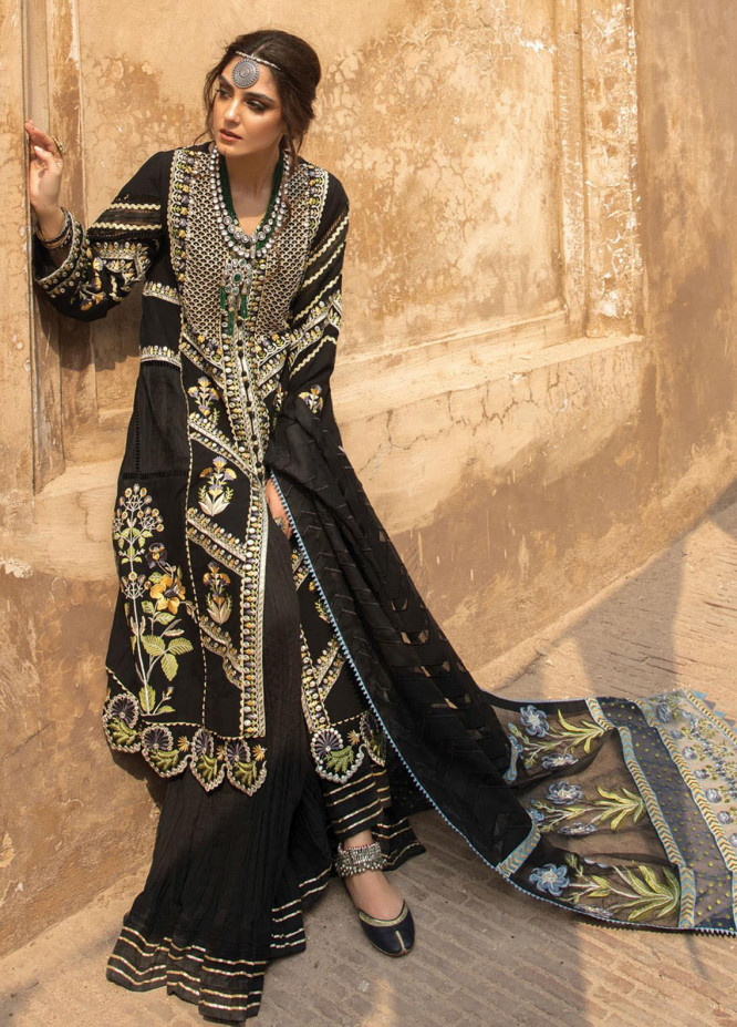 Musafir by Crimson Embroidered  Unstitched 3 Piece Suit CR20MF 2-A - Winter Collection