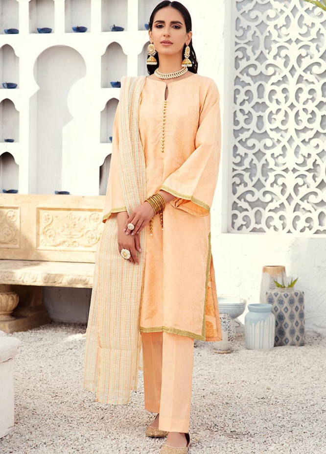 Cross Stitch Jacquard Cotton Suits Unstitched 3 Piece CS21J 10 CHINOISERIE ICE - Summer Collection