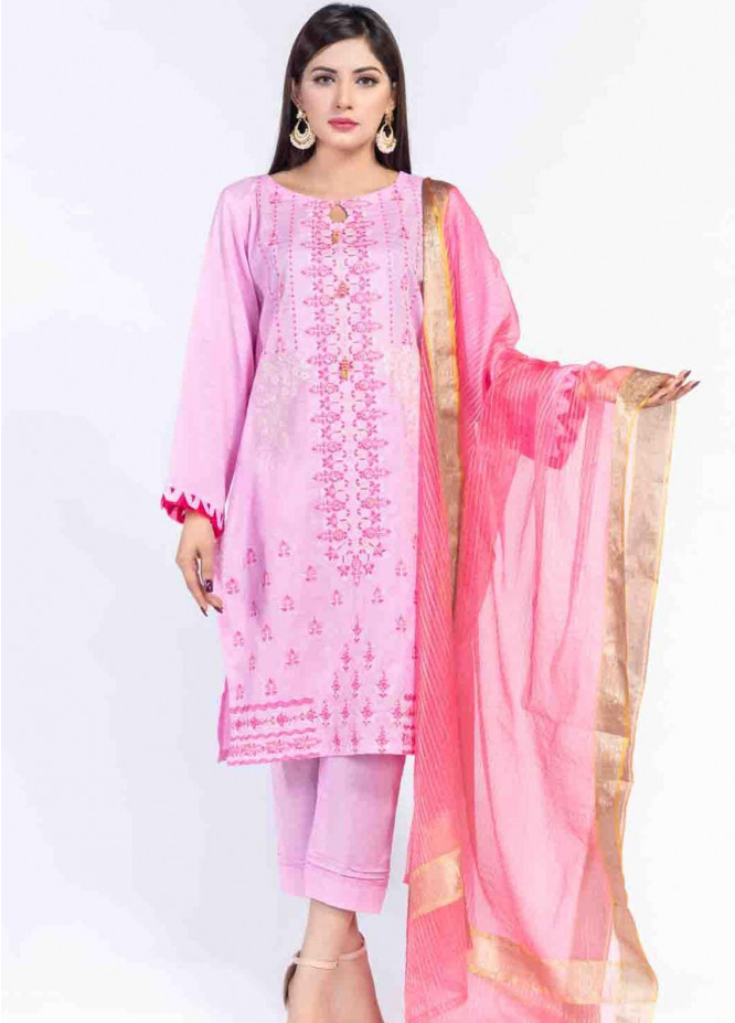 Cyan Embroidered Lawn Suits Unstitched 3 Piece CN21LJ CY-028 - Summer Collection