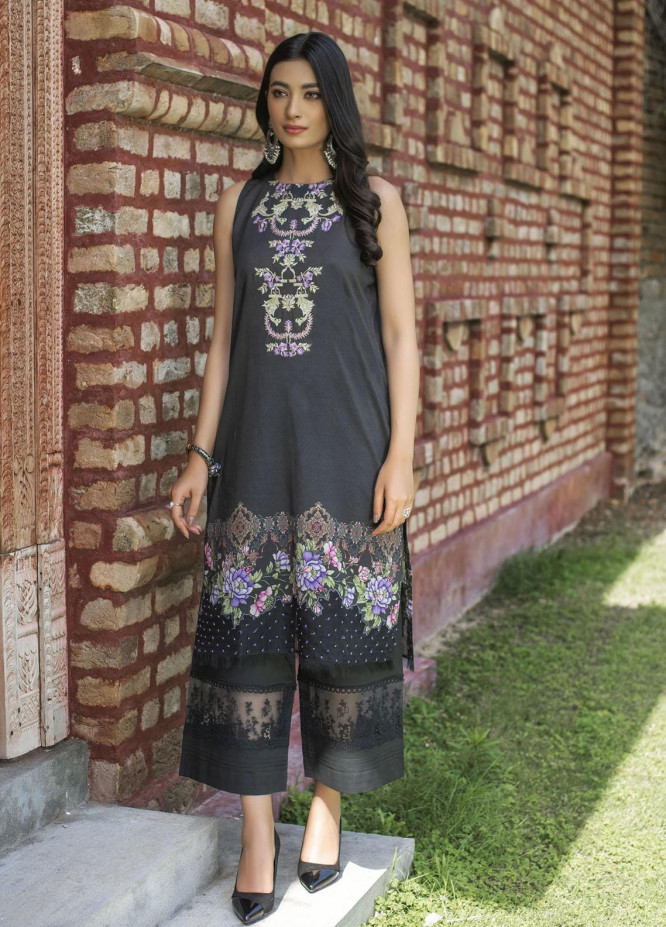 Dastak by Afsaneh Embroidered Lawn Suits Unstitched 2 Piece AFH21D Vasl A - Summer Collection