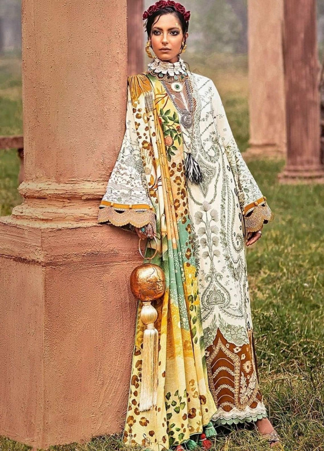 The Solstice Queen by Elan Embroidered Khaddar Unstitched 3 Piece Suit EL20SQ 07 MELIAE - Winter Collection