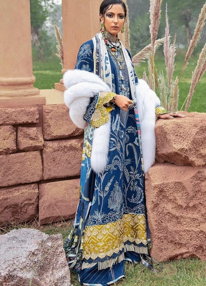 The Solstice Queen by Elan Embroidered Khaddar Unstitched 3 Piece Suit EL20SQ 09 CLEONE - Winter Collection