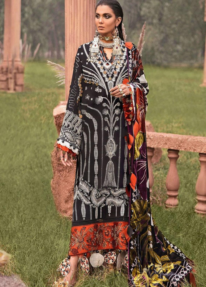 The Solstice Queen by Elan Embroidered Khaddar Unstitched 3 Piece Suit EL20SQ 10 SELENE - Winter Collection