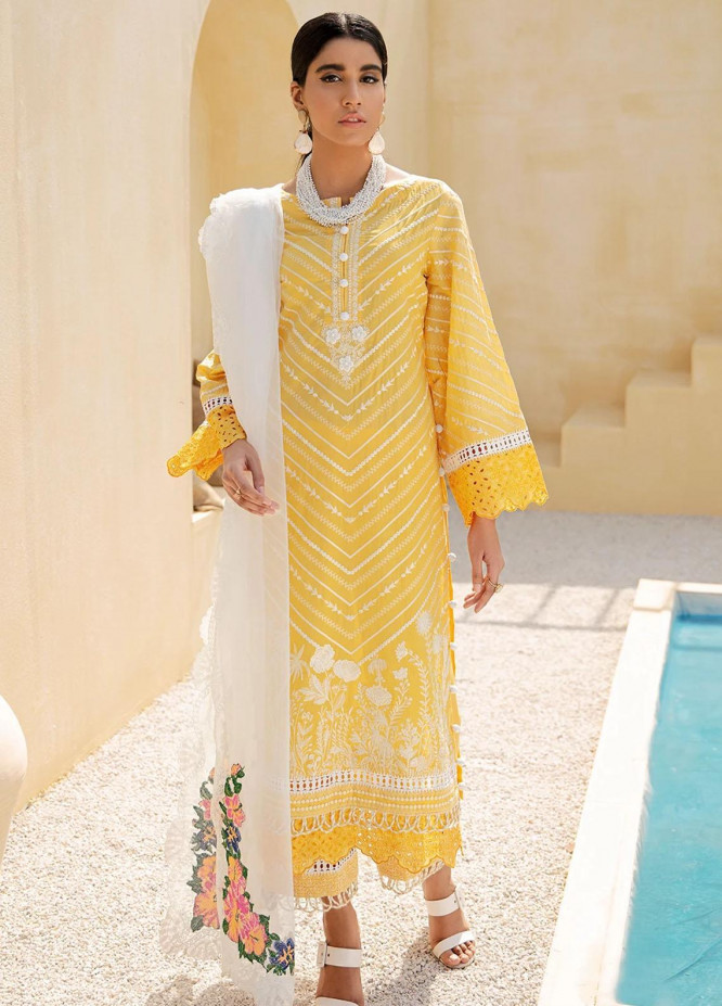 Faixa Faixal By Ittehad Textiles Embroidered Lawn Suits Unstitched 3 Piece ITD21FF MAHJABEEN - Summer Collection