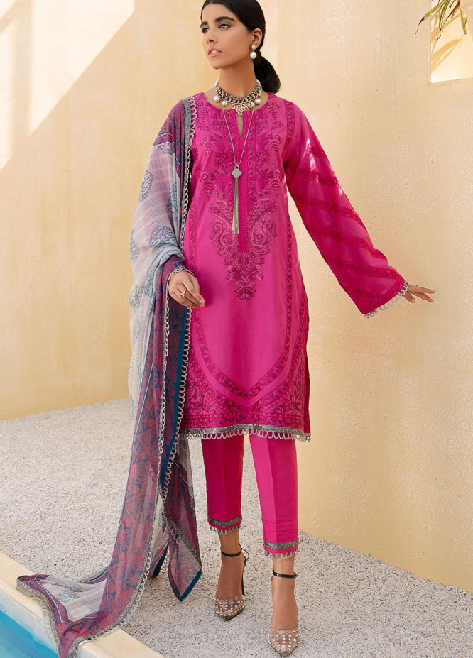 Faixa Faixal By Ittehad Textiles Embroidered Lawn Suits Unstitched 3 Piece ITD21FF NIRMAAN - Summer Collection