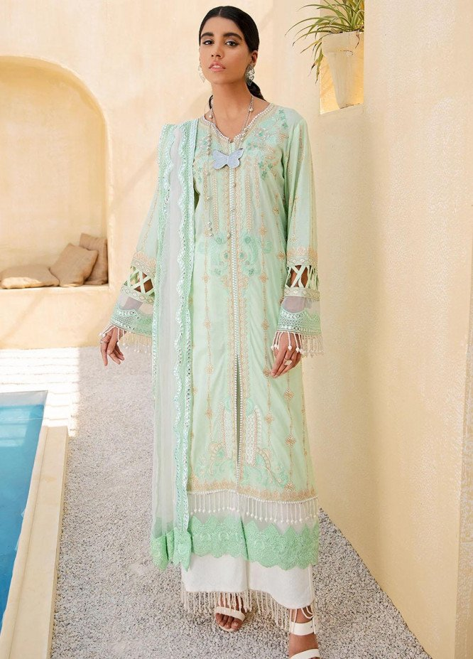 Faixa Faixal By Ittehad Textiles Embroidered Lawn Suits Unstitched 3 Piece ITD21FF SADAF - Summer Collection