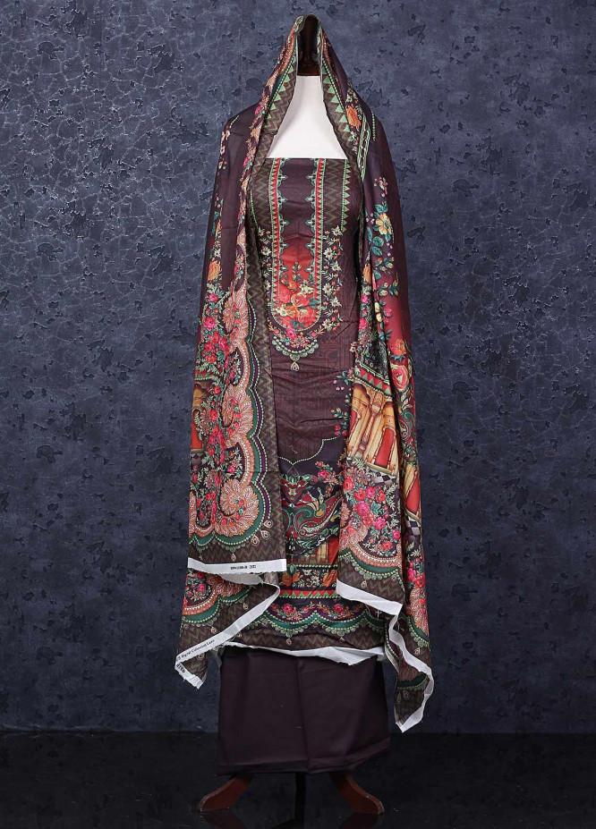 Firdous Fashion Printed Lawn Unstitched 3 Piece Suit FR20D 1108B - Spring / Summer Collection