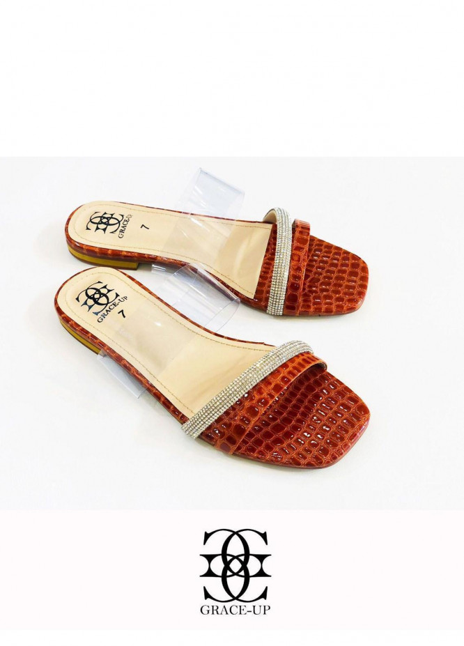 Grace Up Shoes Casual Style  Flats  O638 MUSTARD