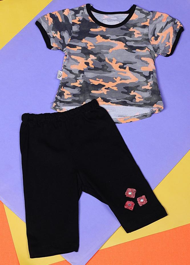 Sanaulla Exclusive Range Cotton Casual Girls Suit -  22322-1 Multi