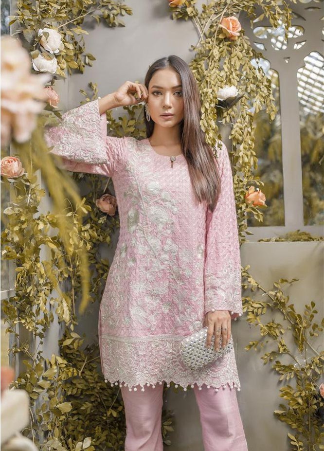 Anahi by Gulaal Embroidered Khaadi Net Stitched 2 Piece Suit GLP17E 06