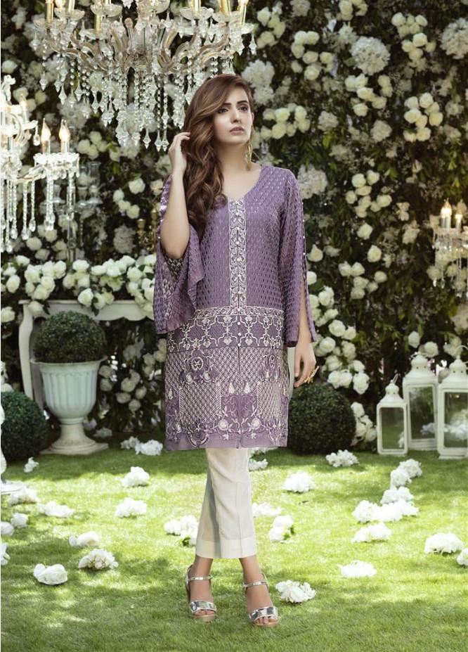 Anahi by Gulaal Embroidered Chiffon Stitched Kurtis GLP17K 9A