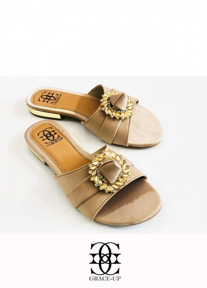 Grace Up Shoes Casual Style  Flats  O634 FOWN