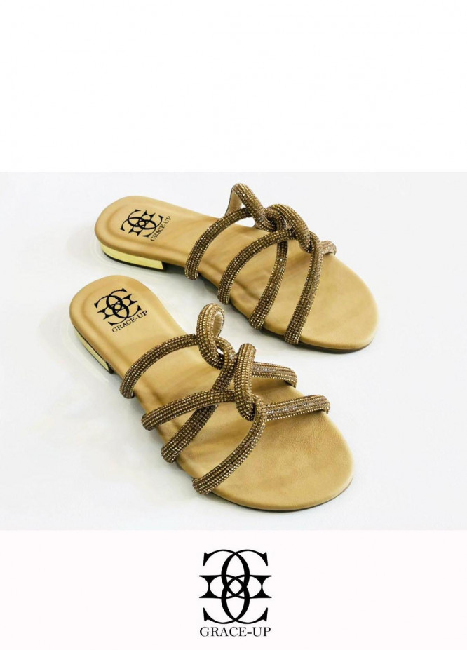 Grace Up Shoes Casual Style  Flats  723 FOWN