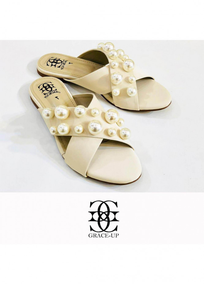 Grace Up Shoes Casual Style  Flat  0621 FAWN