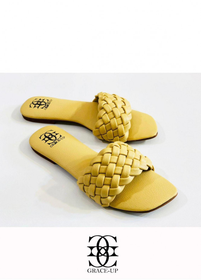 Grace Up Shoes Casual Style  Flat  626 Fawn