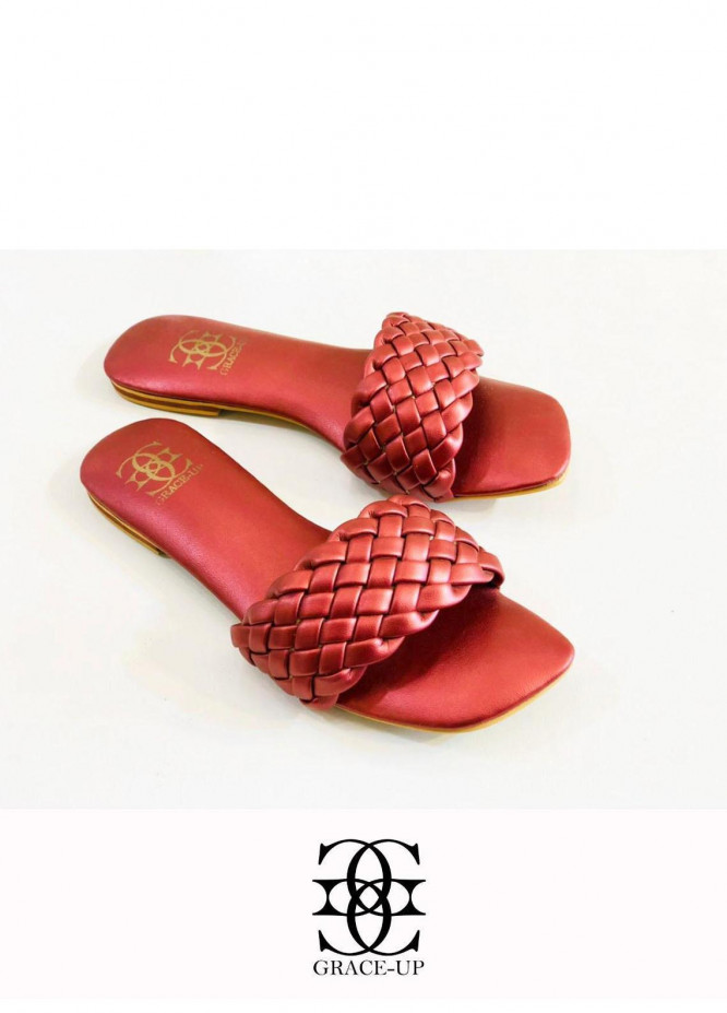 Grace Up Shoes Casual Style  Flats  626 MAROON