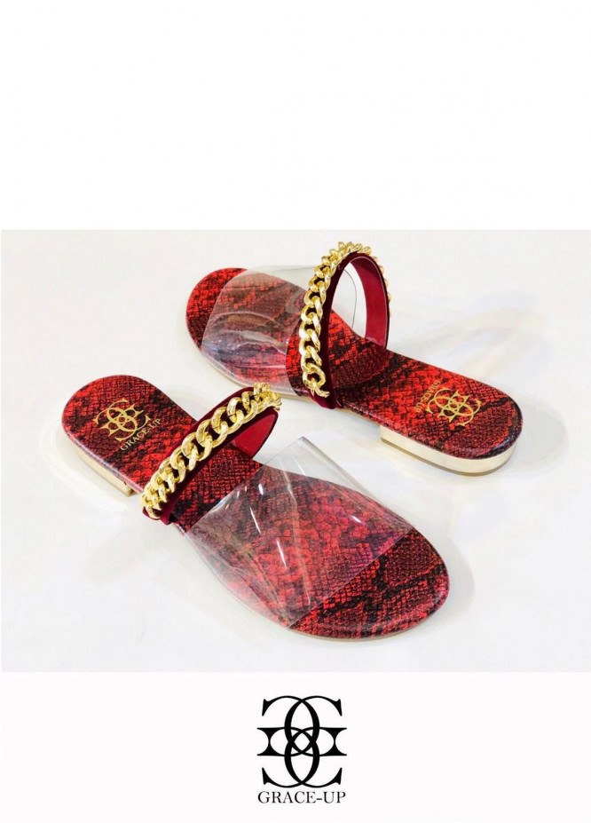 Grace Up Shoes Casual Style  Flat  O603 MAROON