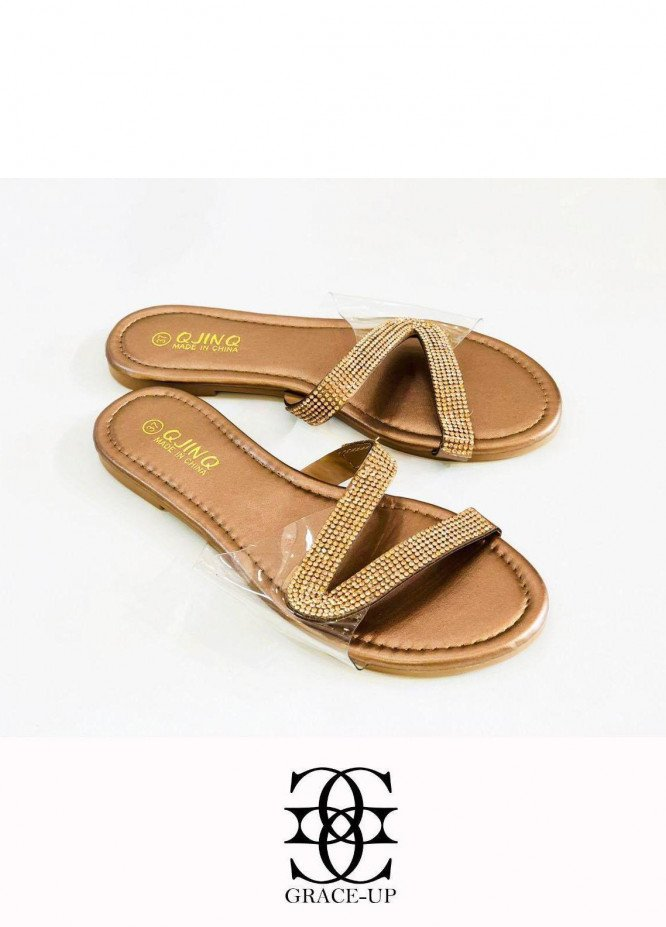 Grace Up Shoes Casual Style  Flat  W81 BROWN