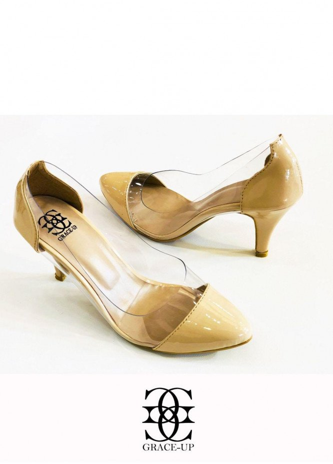 Grace Up Shoes Formal Style  Heels  O489 FOWN