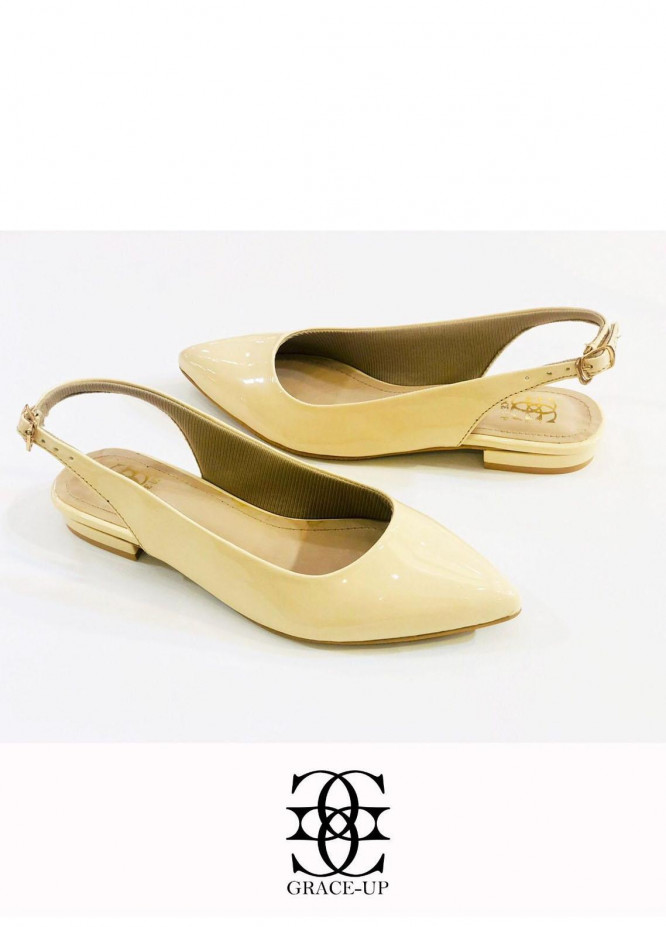 Grace Up Shoes Casual Style Flats O639 FOWN