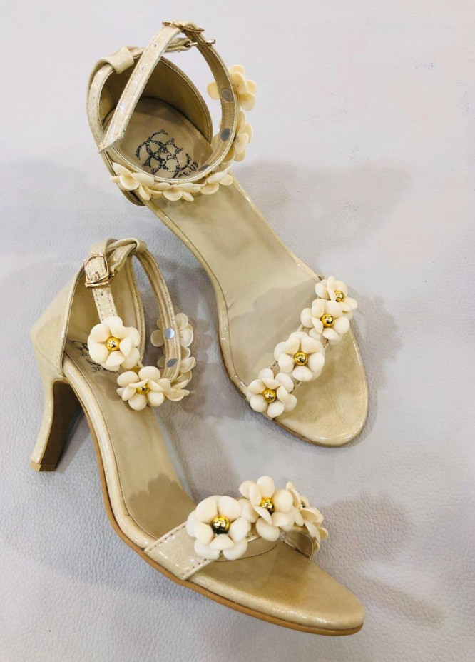 Grace Up Shoes Casual Style  Heel Shoes 956 Fawn