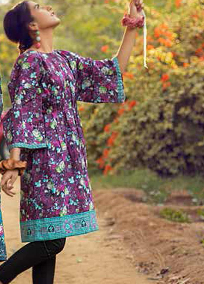 Gul Ahmed Printed Lawn  Unstitched Kurties GA21BG SL-938 A - Summer Collection